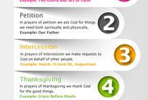 Praying and Forms of prayer