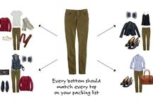 Style when packing for a trip