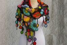crochet shalls