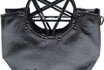 Handbags and More / Goth Nugoth Psychobilly Horror Handbags Totes Backpacks Purses