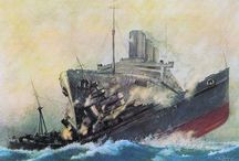 R.M.S. Queen Mary..H.M.S Curacao..Disaster.