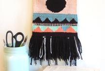 Weaving - tissages - / Tissages, fils, laine