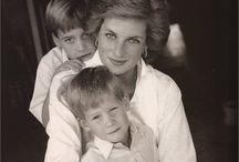 Diana and the Princes'