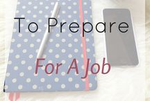 Job / Anything about job seeking