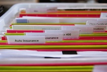 Office, Desk & Paperwork Organization - Kuzak's Closet / by Amanda Kuzak