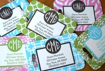 LUGGAGE & DIAPER BAG TAGS / by Debbie Gunn