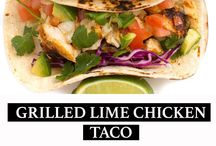 Taco Recipes / Mexican Recipes / A collection of easy Mexican food recipes.  These healthy takes on traditional dishes deliver on flavor every time, from the tacos to burritos, carnitas to margaritas.