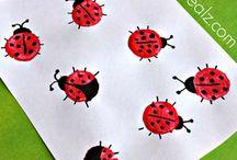 Caitlin's ladybirds