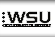 Walter Sisulu University / The WSU is a university of technology and science in Mthatha, Eastern Cape. Currently 26722 students are studying in the four faculties. www.wsu.ac.za