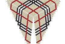 trojuhelníky šité