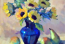Flowers oil