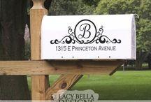 Address street post signs