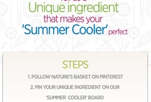 Summer Cooler / Tell us one 'Unique Ingredient' that makes your summer cooler perfect.