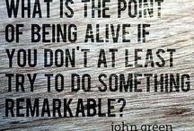 John green  / This man is my inspiration