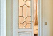 стекло на двери межкомнатные