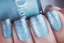 Winter/christmas nails