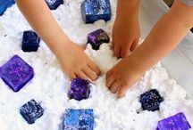 Fun sensory activities! / These are some great ways to work on your child's gross and fine motor skills. Happy playing!