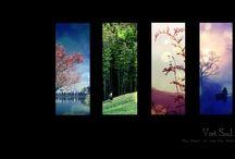 four seasons / by Leah Nixon