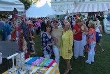 The Newport Flower Show / Join us at the #newportflowershow at Rosecliff on June 27 through June 29, 2014!  We have a very fashionable booth on site!