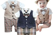Kids Fashion: Baby Boy / Curating amazing outfits for baby boy clothes. Everyone knows that boys are harder to shop for than girls...there's gotta be amazing boy stuff out there. Let's pin them on here. To collaborate, follow me and all my boards and email me at email@sengerson.com.