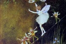 Ida Rentoul Outhwaite / Fairy paintings