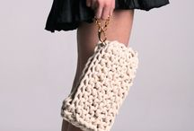Bags knitted and chrochet