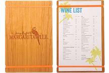 Wine List Covers