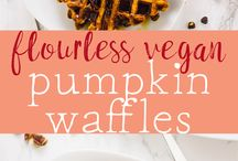 Waffles vegan of course