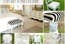 Furniture makeovers - muebles reciclados