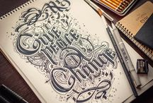 lettering and typo
