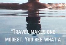Travel Quotes / Quotes about traveling to inspire you to get out there and live!
