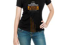 Unisex Tshirts on girls