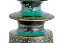 Keramik, stengods å lera å porslin mm