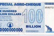 Zimbabwe Dollar Banknotes / Zimbabwe Banknotes
