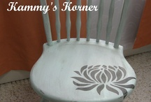 Painted Chairs Ideas