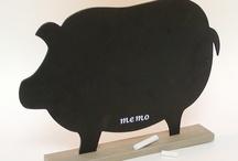 Piggy Board / Piggy Blackboard / Chalkboard / Magnetic Board
