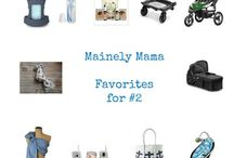 Baby Gear for #2 / My Favorite baby gear and helpful essentials for transitioning to 2 little ones!