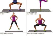 Leg workouts / by Jennifer Goodine