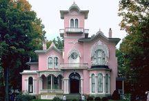 Little pink houses... / by Amie Su PixiGlitterLust