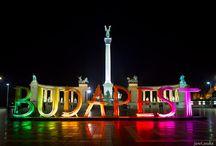 Budapest fény installáció