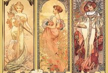 Art Nouveau / Art nouveau is one of my favorite styles for inspiration. Maybe it will also inspire you?