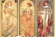 Alphonse Mucha / Artwork by Mucha that inspires me.