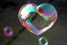 bubble kaitlyn heart