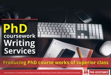 PhD Coursework, Assignment writing & Editing Services / Producing PhD course works of superior class    Contact Us: India Number: +91-8754446690 UK Number: +44-1143520021 Email: info@phdassistance.com Website: http://www.phdassistance.com