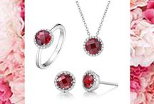 The Birthstone Collection / Beautiful Birthstone Jewelry with the world's finest Simulated Diamonds, Genuine Gemstones, and Lab Grown Gemstones from $120. / by Lafonn