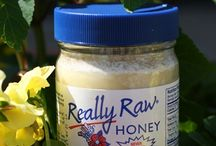Really Raw Honey Products / Really Raw Honey is totally unprocessed honey. It still contains pollen, propolis, honeycomb and live enzymes -- all the goodness the bees put in! That's why Really Raw Honey is creamy, smooth and spreadable with sweet and crunchy cappings. Really Raw® Honey is gathered from fields of wildflowers planted by nature right here in the United States. / by Really Raw Honey