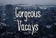 Gorgeous Vacays / Sometimes you just need to zone out and dream about your next vacay. We get it.  / by FYI TV