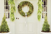 CHRISTMAS belles / Christmas decor, entertaining, celebration, art, stairway ideas. Inspiration for holiday fun and flare.