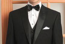 TRENDING TUXEDO STYLES / Some of the trending tuxedo styles for prom & weddings.
