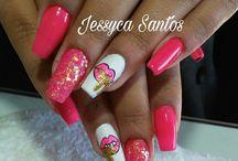 unhas decoradas by Jessyca Santos / nails art